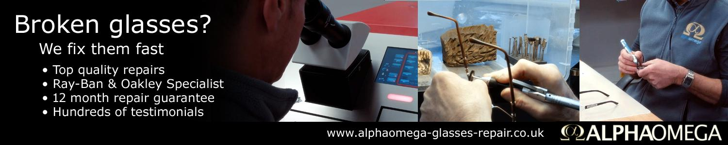 AlphaOmega Glasses Repair